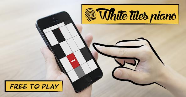 White tiles Piano