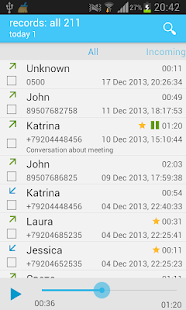 Call recorder (Full) - screenshot thumbnail
