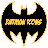 Batman icon pack Apex Nova ADW