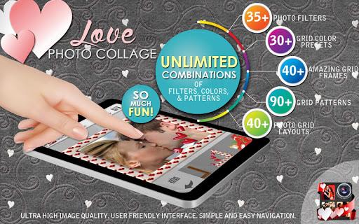 玩攝影App|愛的照片拼貼製作免費|APP試玩