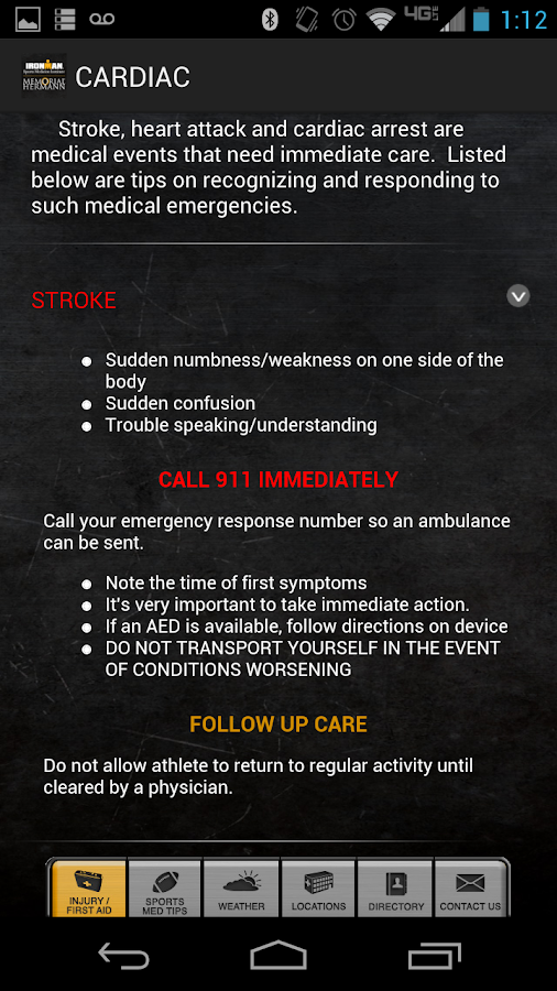IRONMAN Sports Medicine- screenshot