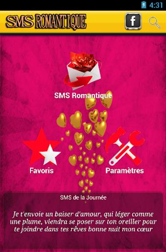 SMS Romantique en français
