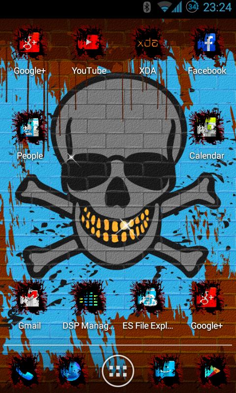 punk skull hd screenshot - photo #5