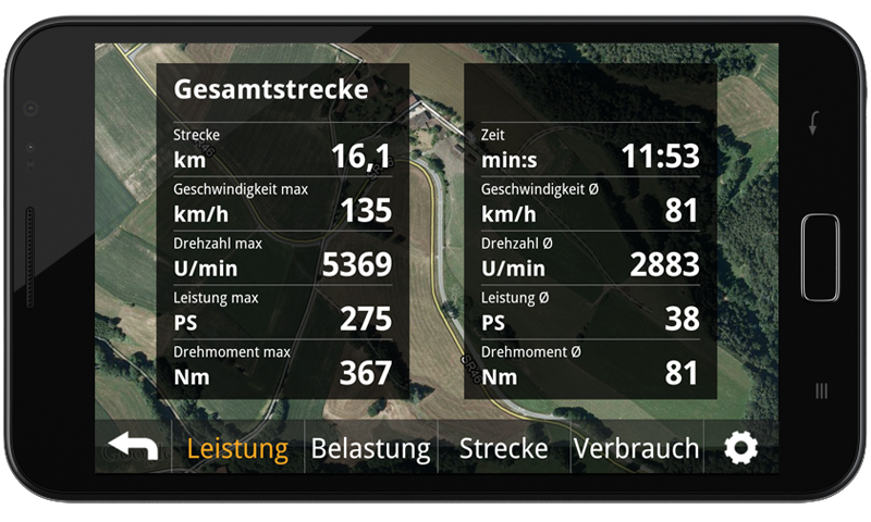 DriveDeck Sport- screenshot