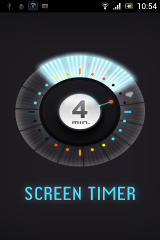 ScreenTimer -limit screen time - screenshot