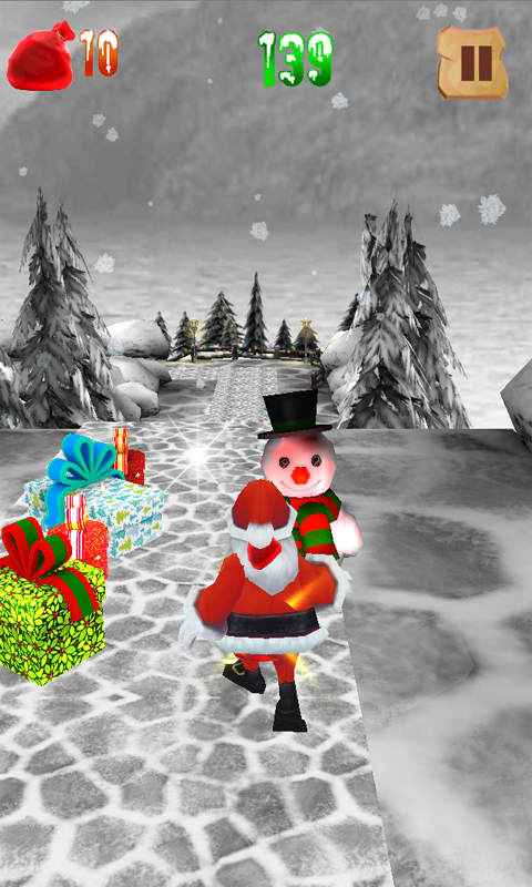 Super Santa Run - screenshot