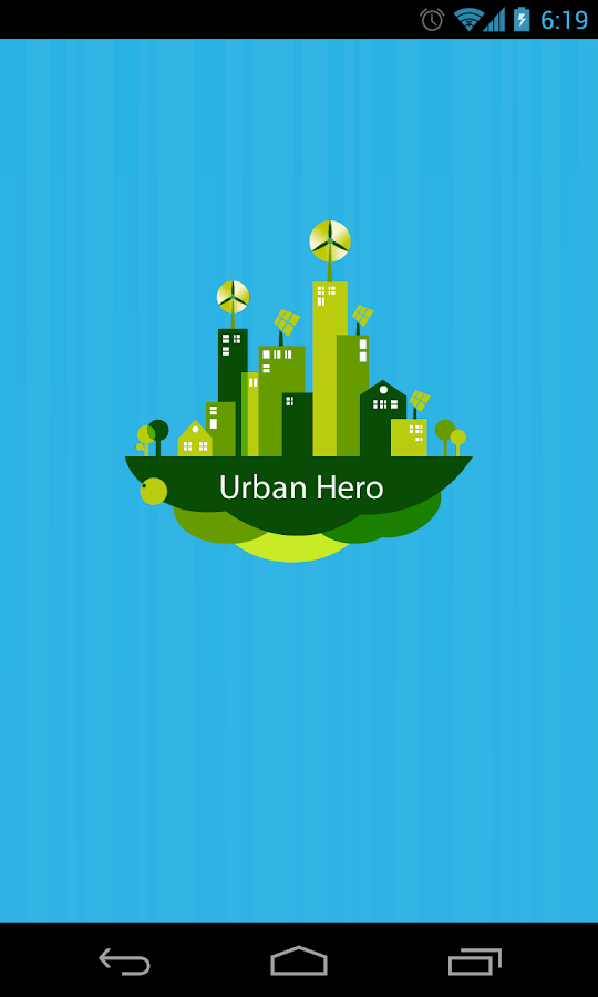 Urban Hero– captură de ecran