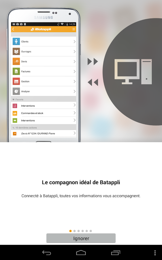 iBatappli - screenshot