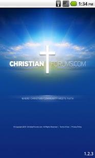 Christian Forums - screenshot thumbnail