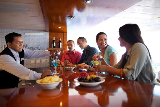 Celebrity_Xpedition_bar - Aboard Celebrity Xpedition, tailored for a younger, more active and adventurous traveler.