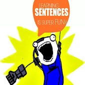 Kids Learn Sentences Cartoon