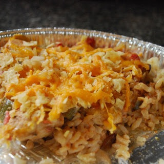 Fajita Chicken and Rice Bake