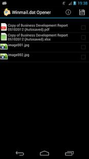 Winmail.dat Opener- screenshot thumbnail