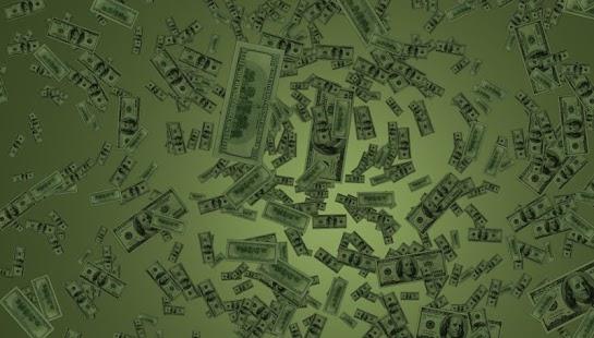 Money Rain Live Wallpaper Screenshot