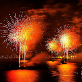 Fire and Water by Darrell Champlin - Public Holidays New Year's Eve (  )