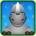 Rhino Run 3D icon
