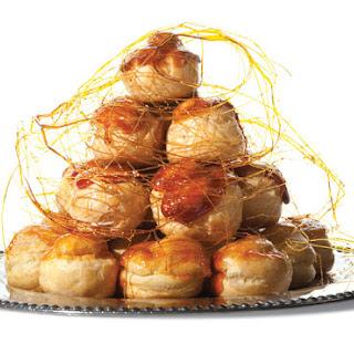 Croquembouche (Caramel-Glazed Cream Puffs)