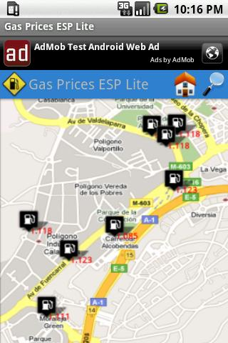 Gas Prices ESP Lite- screenshot