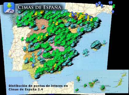 Cimas de España- screenshot thumbnail
