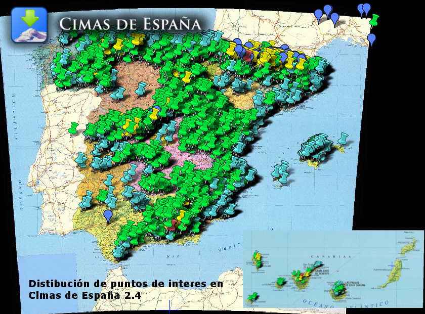 Cimas de España- screenshot