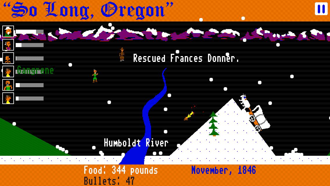 So Long, Oregon! screenshot #3