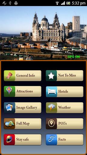 Liverpool Offline Travel Guide