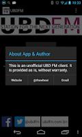 Screenshot of UBDFM / UBD FM Brunei