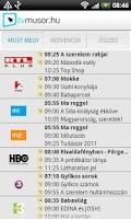 Screenshot of TV Műsor
