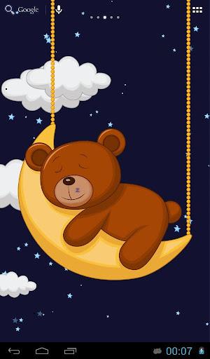 睡觉的玩具熊
