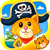 Pirate Puzzle Coloring Book