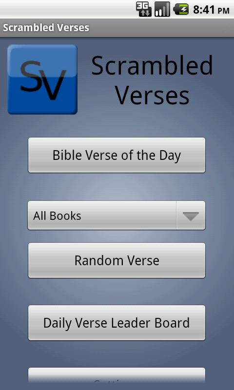 Scrambled Verses FREE - screenshot