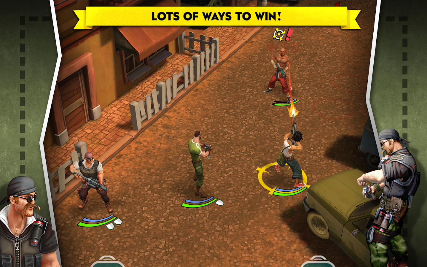AntiSquad Tactics Premium- screenshot