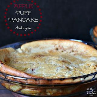 Apple Puff Pancakes {Gluten-Free} Recipe