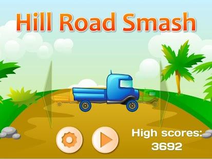 Hill Truck Race