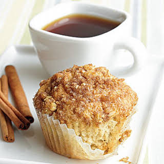 Cinnamon-Raisin Muffins with Streusel Topping.