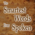Smartest Words Ever Spoken logo