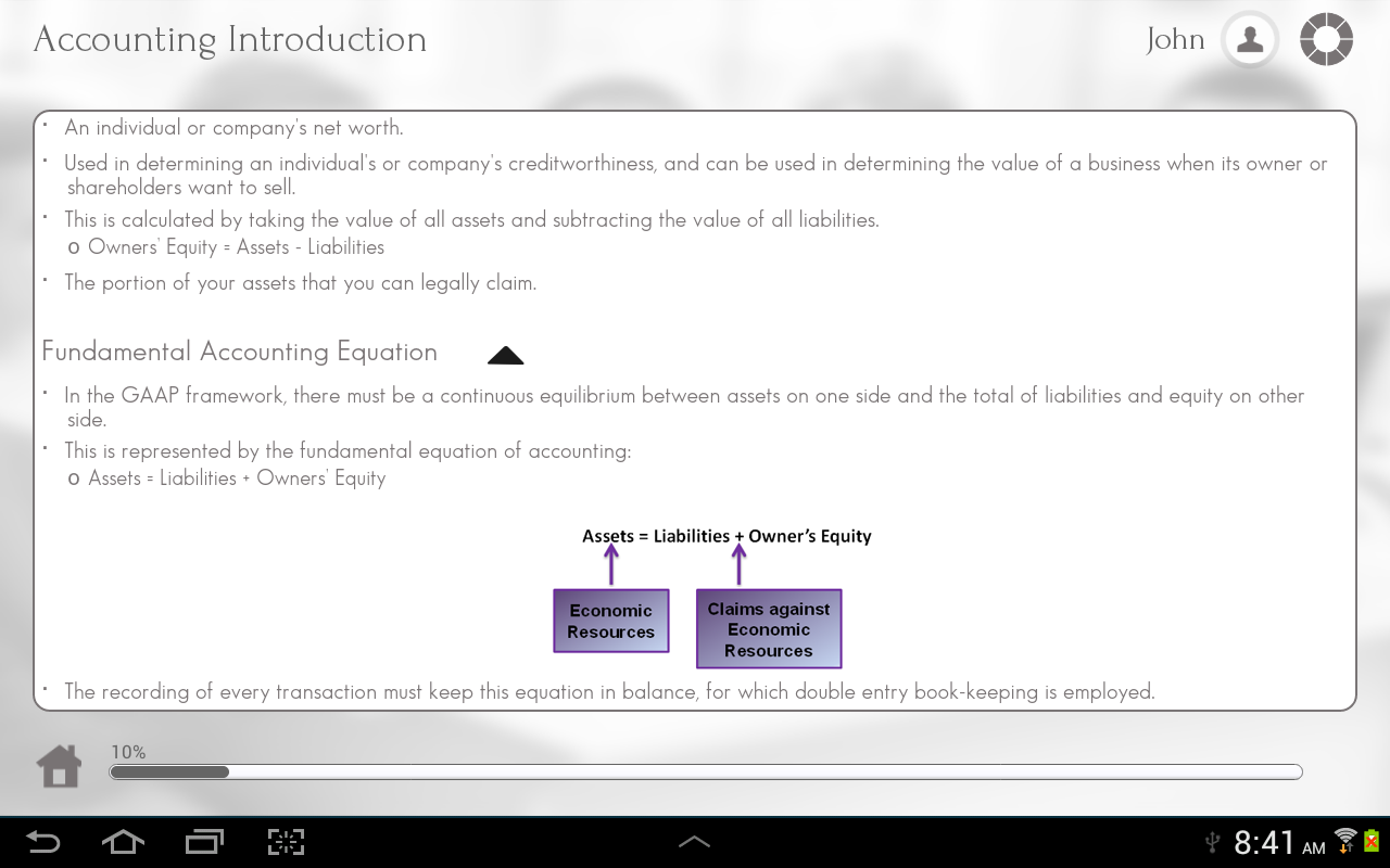 Learn Accounting - screenshot