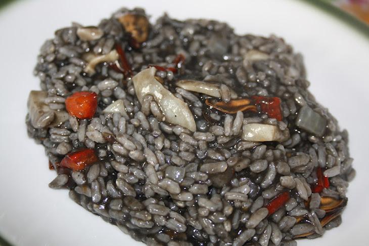 Black Paella Recipe