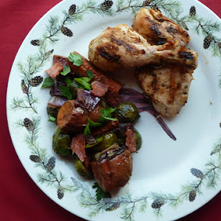 Amish Chicken and Roasted Vegetables