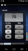 Screenshot of Crestron Mobile