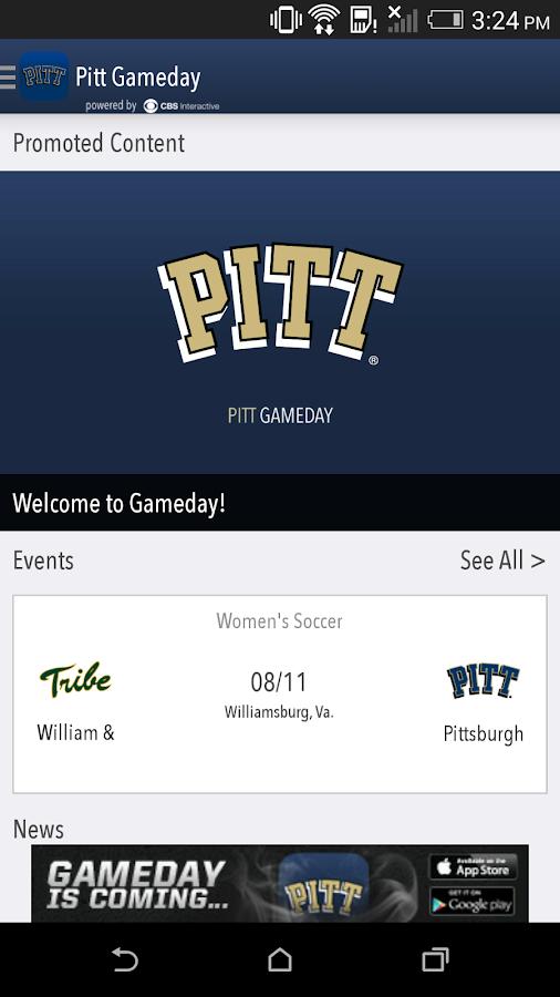 Pitt Gameday LIVE - screenshot