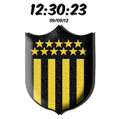 Peñarol Digital Clock