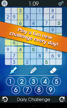 Sudoku: Daily Challenge apk screenshot