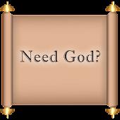 Need God?