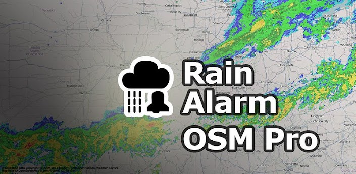 Android APK (2.1+): Rain Alarm OSM Pro v3.4.4