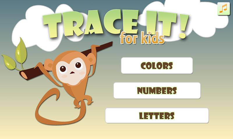 Trace It! For Kids - screenshot