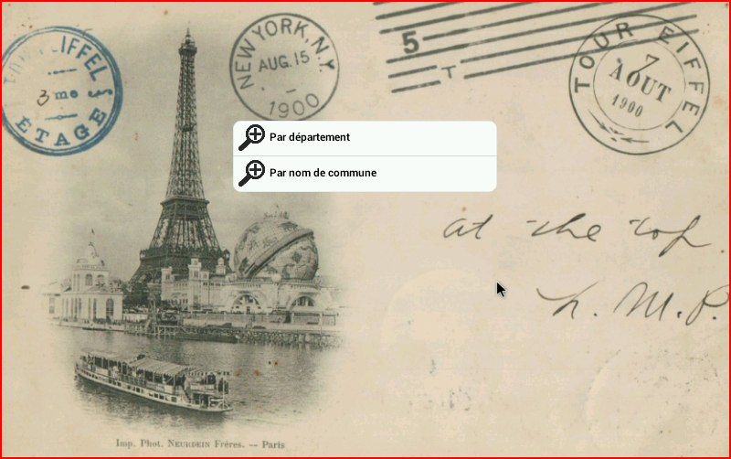 Code Postal France - screenshot