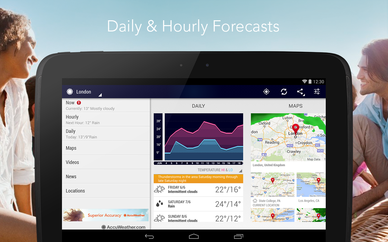 AccuWeather - screenshot