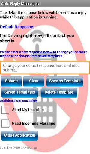 Simple SMS Responder