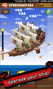 Pirate Clickers - screenshot thumbnail
